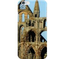 Whitby Abbey ruined yet still glorious iPhone Case/Skin