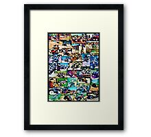 Four Wheeling Framed Print