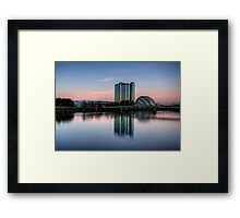 Glasgow in spring Framed Print