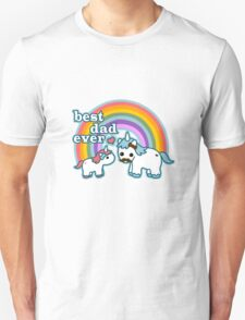 Cute best dad ever geek funny nerd T-Shirt