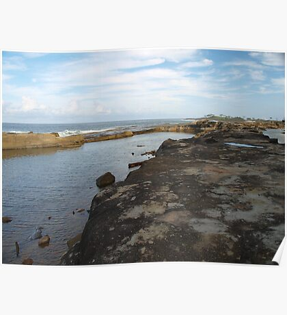 calmer waters - Angourie NSW Poster