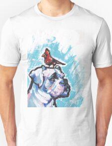 Boxer Dog Bright colorful pop dog art Unisex T-Shirt
