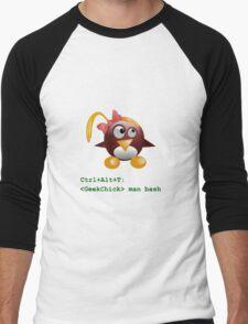 Geek Chick Men's Baseball ¾ T-Shirt