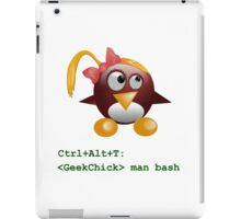 Geek Chick iPad Case/Skin