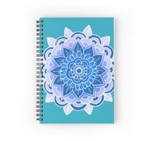 Mandala: Blue  Spiral Notebook