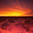 Mungo sunset by Neil