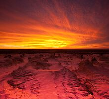 Mungo sunset by Neil