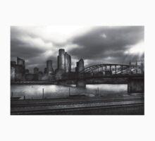 City - Pittsburg, PA - Smithfield Bridge  Kids Clothes