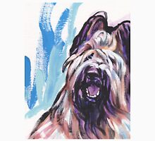 Briard Dog Bright colorful pop dog art Unisex T-Shirt