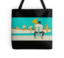 On The Beach - Yellow Shoes Tote Bag