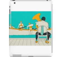 On The Beach - Yellow Shoes iPad Case/Skin