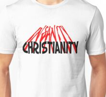 CHRISTIANITY / INSANITY (Light background) Unisex T-Shirt