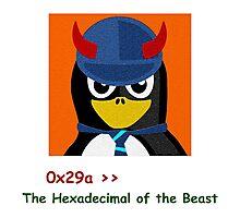 Hexa Beast Photographic Print