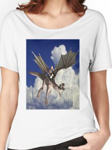 Music in the Clouds Women's Relaxed Fit T-Shirt