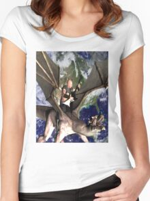 Dragon Song 2 Women's Fitted Scoop T-Shirt