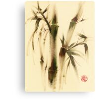 """Awareness"" Sumi-e bamboo painting on paper Metal Print"