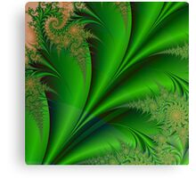 GREEN LEAVES OF SUMMER Canvas Print
