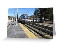 Amtrak 917 Regional Greeting Card