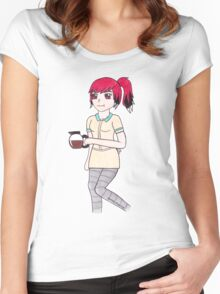 Margaret as a human Women's Fitted Scoop T-Shirt