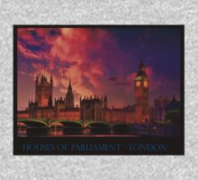 Houses of Parliament - London Baby Tee