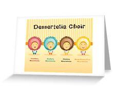 Macaroomelia (4 flavours) Greeting Card