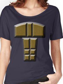 buttons Women's Relaxed Fit T-Shirt