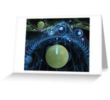 Entering a new galaxy Greeting Card