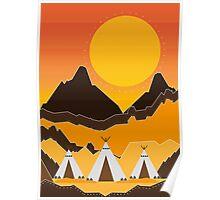 Teepe Landscape Poster