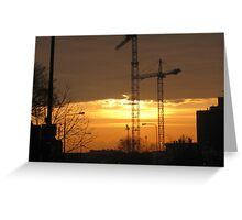 Beauty and the Beast - Sunset - Dublin, Ireland Greeting Card