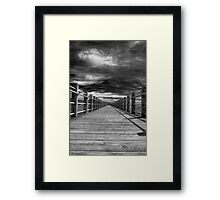 The Vanishing Point Framed Print