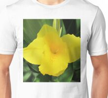 Yellow flower Unisex T-Shirt