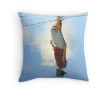 Femenine reflection... Throw Pillow