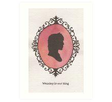 Ron Weasley Cameo Art Print