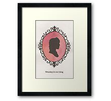 Ron Weasley Cameo Framed Print