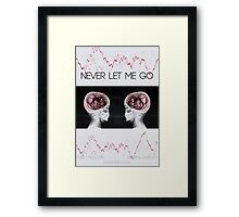 Never let me go Framed Print