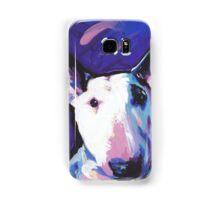 Bull Terrier Dog Bright colorful pop dog art Samsung Galaxy Case/Skin