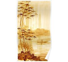 LAKE - landscape art Poster