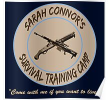 Sarah Connor's Survival Training Camp Poster
