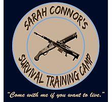 Sarah Connor's Survival Training Camp Photographic Print