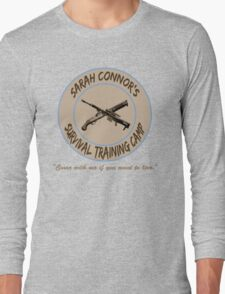 Sarah Connor's Survival Training Camp Long Sleeve T-Shirt