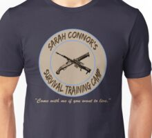Sarah Connor's Survival Training Camp Unisex T-Shirt