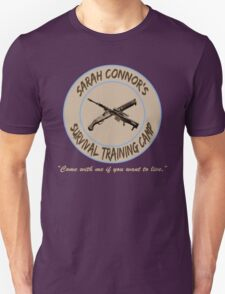 Sarah Connor's Survival Training Camp T-Shirt