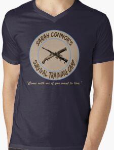 Sarah Connor's Survival Training Camp Mens V-Neck T-Shirt