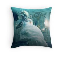 Death of a Monarch Throw Pillow