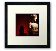 Bust at the V&A Framed Print