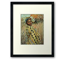 Comfort in my Roots Framed Print