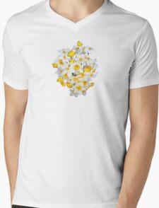 DAFFODIL 2 Mens V-Neck T-Shirt