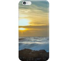 Sunset over the Bristol Channel iPhone Case/Skin