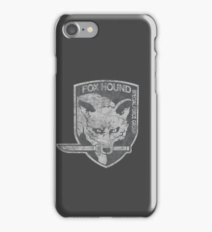 Battle Worn - Fox Hound Special Force Group  iPhone Case/Skin