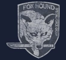 Battle Worn - Fox Hound Special Force Group  One Piece - Long Sleeve
